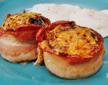Cheddar Bacon Hash Brown Cups!