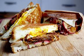 Bacon & Egg Grilled Cheese!