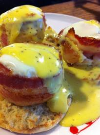 Bacon Cups Benedict!