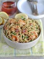 Bacon Shrimp Scampi!