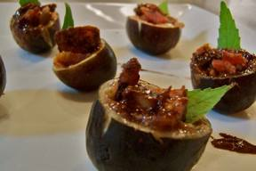 Chocolate Bacon Figs!
