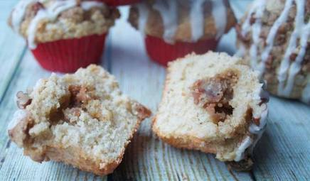 Maple Bacon Streusel Muffins!