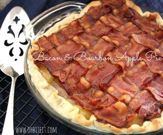 Bacon Bourbon Apple Pie!