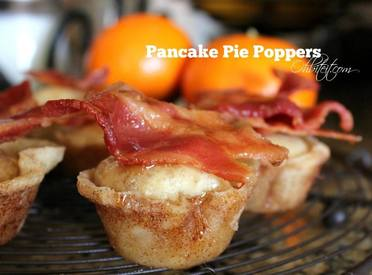 Bacon Pancake Pie Poppers!