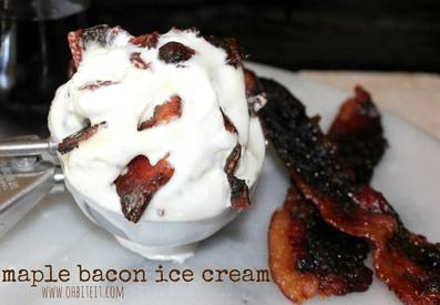 Bacon Maple Ice Cream!