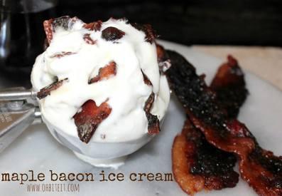Bacon Maple Ice Cream!