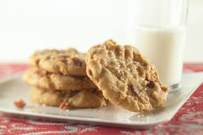 Bacon & Peanut Butter Cookies!