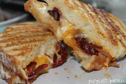 Bacon & Sun Dried Tomato Grilled Cheese!