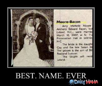 Best Name Ever!