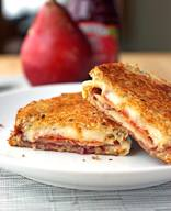 Bacon Pear & Raspberry Grilled Cheese!