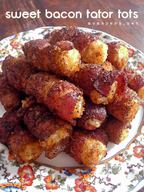 Sweet Bacon Tator Tots!
