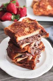 Bacon & Nutella Stuffed French Toast!