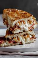 Bacon & Brie Grilled Cheese!