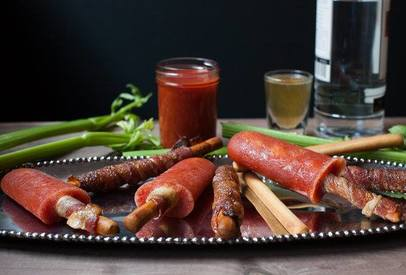 Bacon Bloody Mary Popsicles!