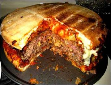 Bacon Cheeseburger Pizza!!