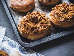 Coffee Bacon Doughnuts!