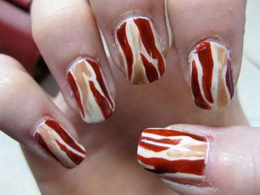Bacon Manicure!