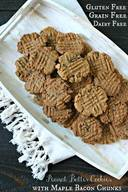 Maple Bacon Peanut Butter Cookies!