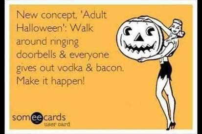 Adult Bacon Halloween!