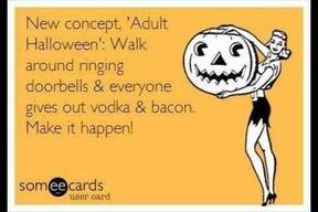 Adult Bacon Halloween!