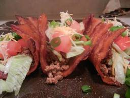 Bacon Weave Taco Shells!
