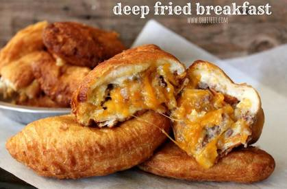 Deep Fried Breakfast!