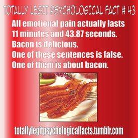 Bacon Psychology?