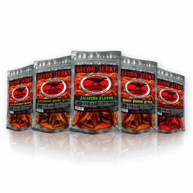 Carnivore Candy Bacon Jerky - Save $5 Off 5 Flavor Sampler!