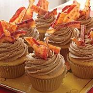 Maple Bacon Cupcakes!