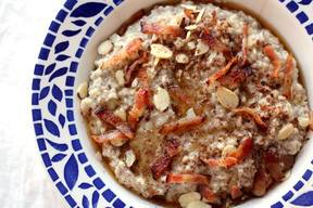 Maple Bacon Oatmeal!