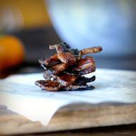 Caramelized Bacon Chips!