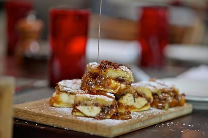 Banana Bacon Brunch Panini!