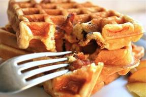 Bacon & Brown Sugar Waffles!