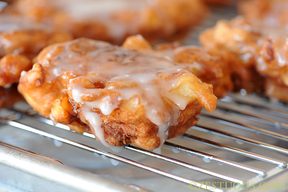 Bacon Apple Fritters!