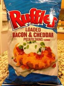 Ruffles Bacon & Cheddar Potato Skin Chips