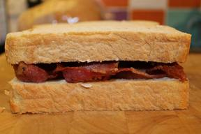A Proper British Bacon Sandwich!
