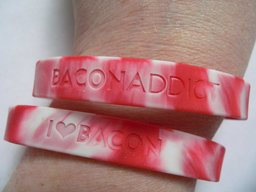 Bacon Silicone Wristbands Are Now Available