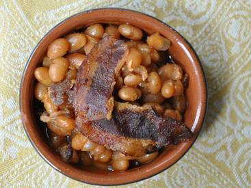 Maple Bacon Baked Beans!