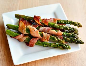 Bacon Wrapped Asparagus!