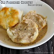 Old Fashioned Country Bacon Gravy!
