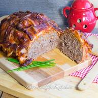 Basket Weave Bacon Meatloaf!