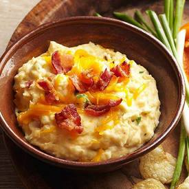 Bacon Cheddar Potato Dip!