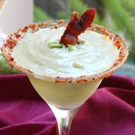 Spicy Avocado & Bacon Frozen Margaritas!