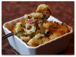 Three Cheese Bacon Mac & Cheese!