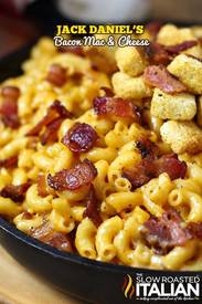 Jack Daniels Bacon Mac & Cheese!