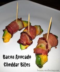 Bacon Avocado Cheesy Bites!