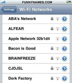 Now That Is How You Name A Wifi Network!