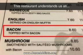 Bacon With Bacon!