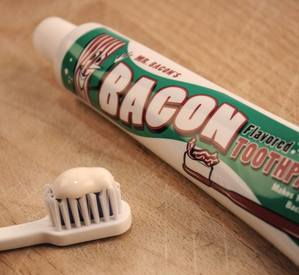 Bacon Toothpaste Clearance Sale!