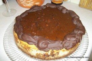 Bacon Caramel & Chocolate Cheesecake!